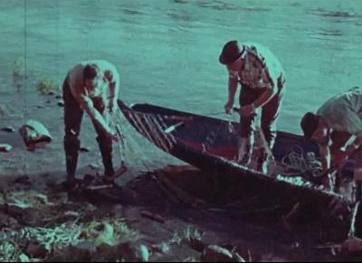 Laksefiske. 1, Østlandet 1974