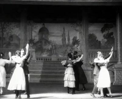 Danseoppvisning, 1920