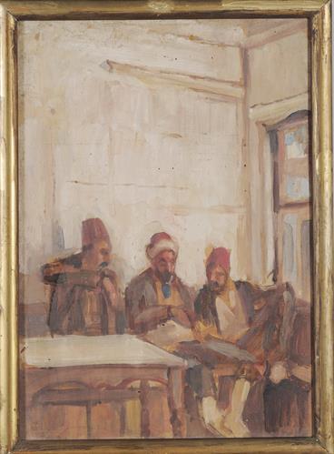 Καφενείο με τρεις θαμώνες