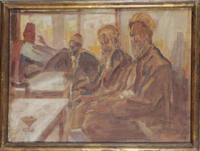 Καφενείο με τέσσερις θαμώνες
