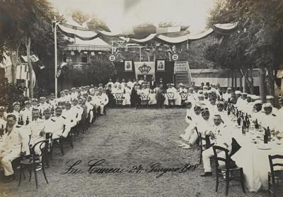 Ο Δούκας Abrugges στο ιταλικό στρατόπεδο