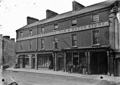 Henry O'Connell's Wine and Spirit Merchant shop, Seatown, Co. Dublin