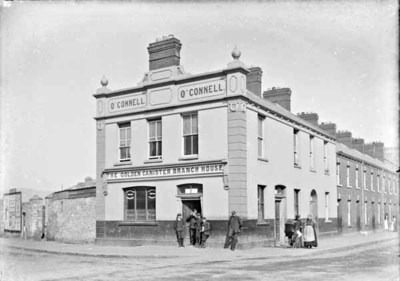 Henry O'Connell's The Golden Cannister Branch House, Earl Street, Ireland