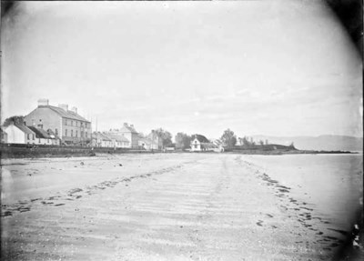 View of Blackrock Strand, Ireland