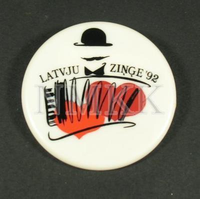 Latvju ziņģe 92