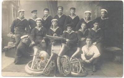 <b>Kreisera Bogatir muzikantu komanda></b>