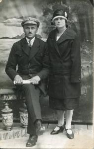 Kārlis Ūdris - sarkano partizānu grupas vadītājs Cesvaines apkārtnē 1919. g.>