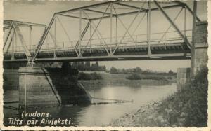 Ļaudona. Tilts pār Aivieksti>