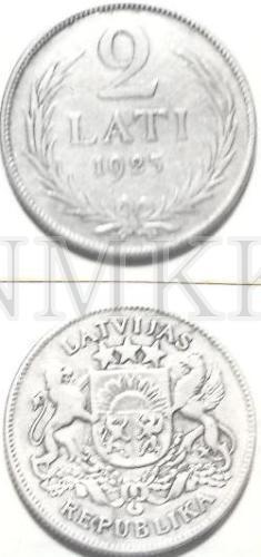 Monētas - 2 lati