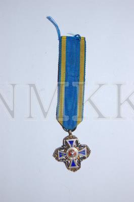 Miniatūrmedaļa, Polijas armijas dzelzceļa apsardzes piemiņas ; Miniatūrmedaļa, Polijas armijas dzelzceļa apsardzes piemiņas
