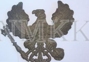 Ģerbonis, prūšu parauga ( Helmewappen ), vācu armijas karavīru kājnieku ( sapieru ) bruņu cepures ( aizsargķiveres ) ; Ģerbonis, prūšu parauga (Helmewappen), vācu armijas karavīru kājnieku (sapieru) bruņu cepures (aizsargķiveres)
