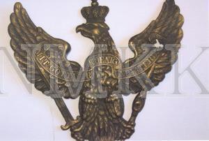 Ģerbonis prūšu parauga ( Helmewappen ), vācu armijas grenadieru bruņu cepures ( aizsargķiveres ) ; Ģerbonis prūšu parauga ( Helmewappen ), vācu armijas grenadieru bruņu cepures ( aizsargķiveres )