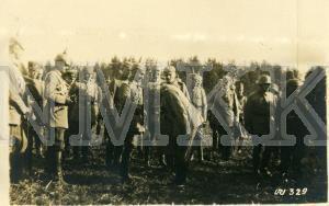ATKLĀTNE: Vācijas ķeizars VILHELMS II, pasniedzot apbalvojumu 8. armijas komandierim, ģenerālim HINDENBRUGAM, Austrumu fronte ; ATKLĀTNE: Vācijas ķeizars VILHELMS II, pasniedzot apbalvojumu 8. armijas komandierim, ģenerālim HINDENBRUGAM, Austrumu fronte