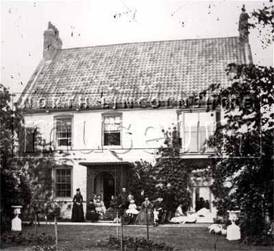 House, possibly in Low Street, Winterton, c.1862-1880.