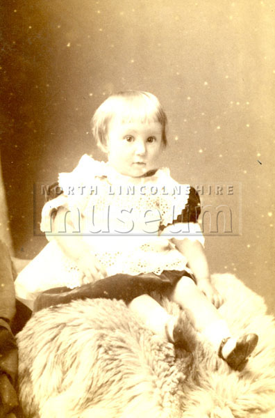 Portrait of unknown Victorian child.