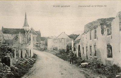 St. Moritz (b. Schlettstadt) Weltkrieg 1914/16