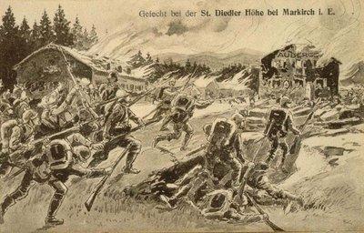 Gefecht bei der St. Diedler Höhe bei Markirch i. E.