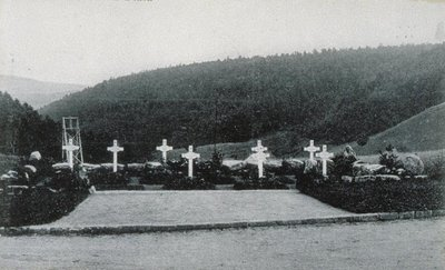 Soldatenfriedhof am Donon