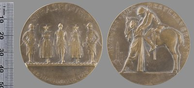 22 Novembre 1918 Strasbourg : Médailles et décorations / Dropsy, Henry