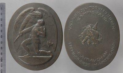 Und wer den Tod im heilgen Kampfe fand : Médailles et décorations / Schenkel, Friedrich (1877-...?)