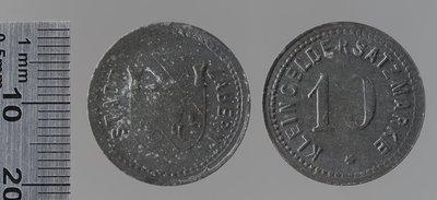 Saverne (Bas-Rhin) 10 pfennigs : Monnaies de guerre / Jörgum & Trefz, Francfort/Main