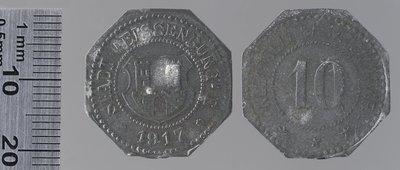 Weissenburg 50 pfennigs : Monnaies de guerre / Lauer, L. Chr., Nuremberg (Allemagne)