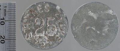 Karnaps (Rh.) 25 pfennigs : Monnaies de guerre