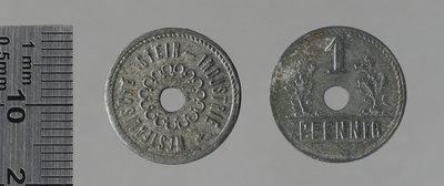 Nachrudt (Westph) Westfälische steinindustr. 1 pfennig : Monnaies de guerre / Kissing, H., Menden