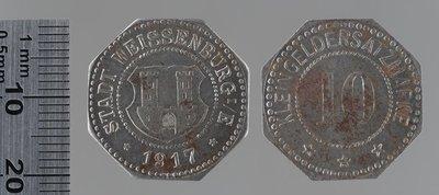 Weissenburg – 10 pfennigs : Monnaies de guerre / Lauer, L. Ch., Nuremberg (Allemagne)