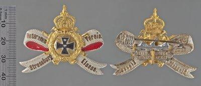Veteranen Verein Strasbourg Elsass 14-18 ? : Médailles et décorations / Peucker, Heinrich