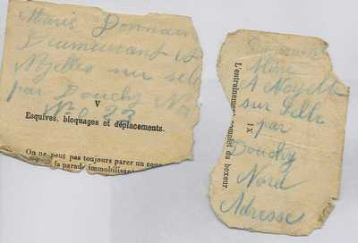Photographs and documents relating to Pte Wm Mcmillan (10)