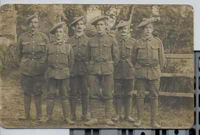 Photographs and documents relating to Pte Wm Mcmillan (16)