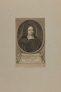 Bildnis des Ioachimus Lange