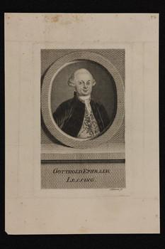Bildnis des Gotthold Ephraim Lessing