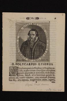 Bildnis des Polycarpus Lyserus