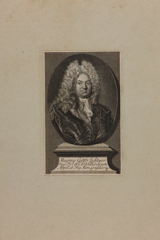 Bildnis des Magnus Gottfr. Lichtwer