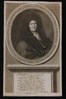 Bildnis des Henricus Iohannes Meibomius
