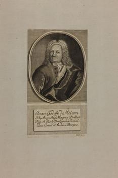 Bildnis des Joan. Godofr. de Meiern