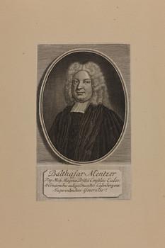 Bildnis des Balthasar Mentzer