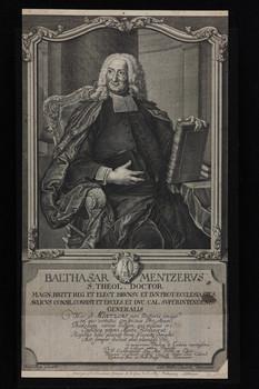 Bildnis des Balthasar Mentzervs