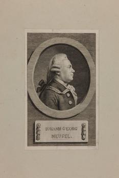 Bildnis des Iohann Georg Meusel