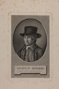 Bildnis des Iustus Möser