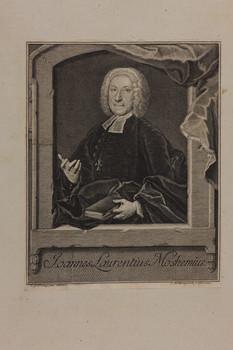 Bildnis des Joannes Laurentius Moshemius