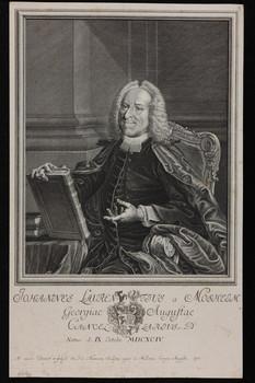 Bildnis des Johannes Laurentius a Mosheim