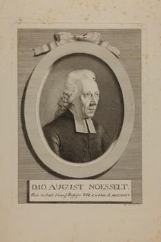 Bildnis des Io. August Noesselt