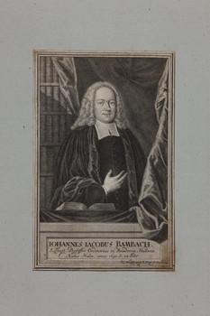 Bildnis des Iohannes Iacobus Rambach