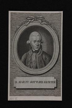 Bildnis des August Gottlieb Richter