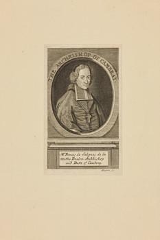 Bildnis des Francis de Salignac de la Mothe Fenelon
