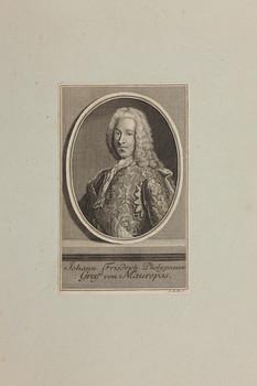 Bildnis des Johann Friedrich Phelypeaux von Maurepas