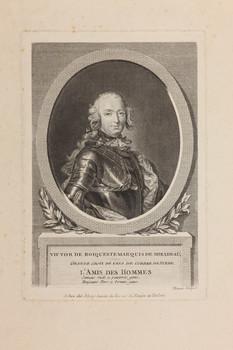 Bildnis des Victor de Roiqueste de Mirabeau